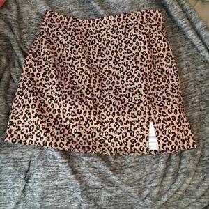 Forever 21 Skirts - Leopard print mini skirt